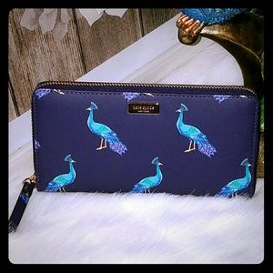 Kate spade Neda peacock wallet